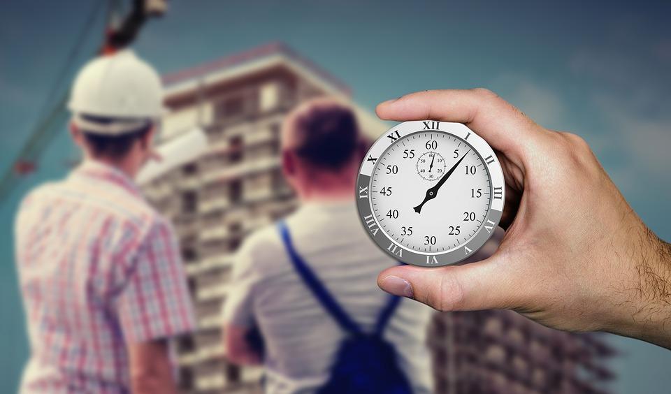 čas stavby